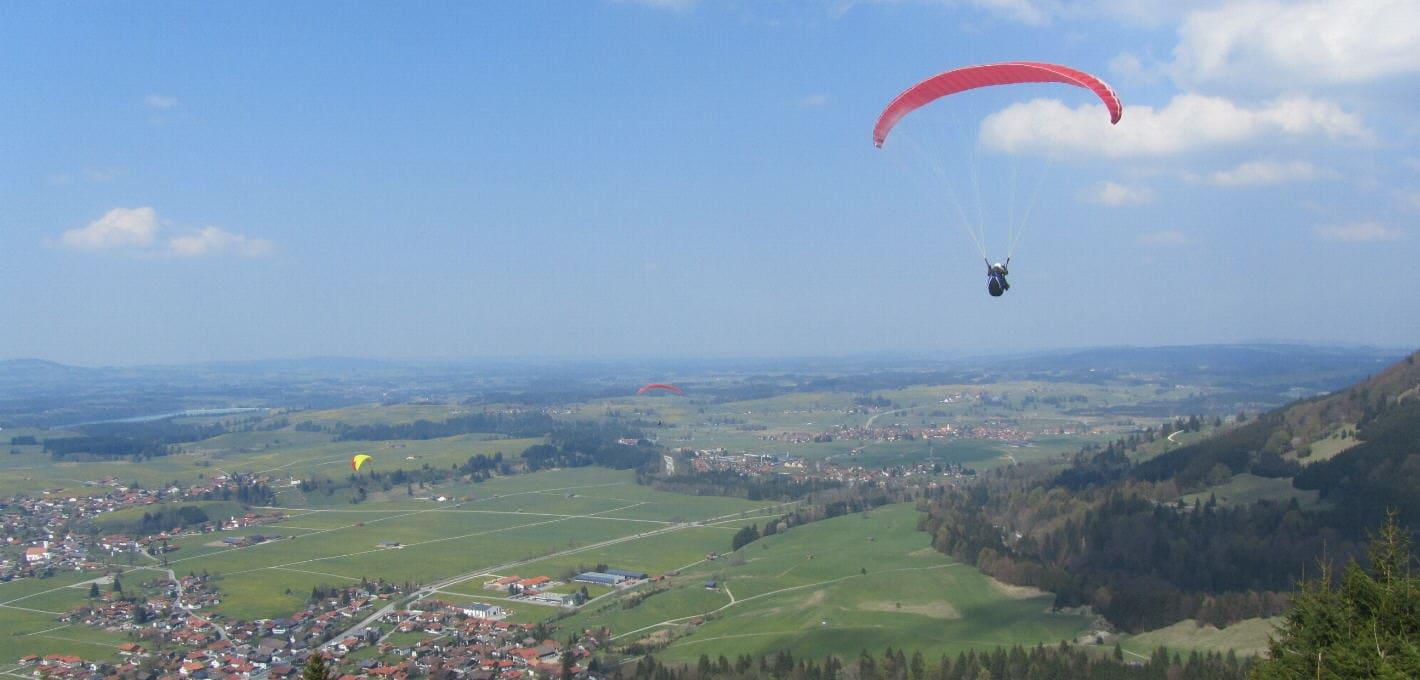 Gleitschirm Höhenflug